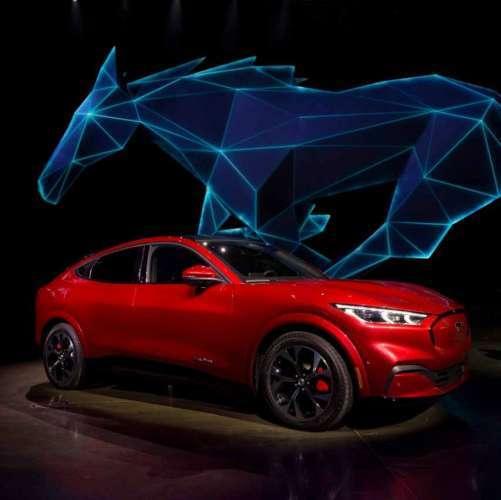 2021 Mustang Mach-E reveal