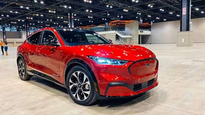 2021 Mustang Mach-E Chicago Auto Show
