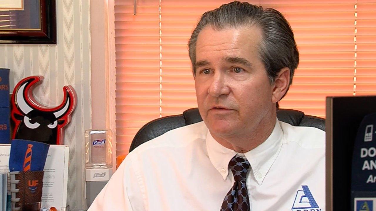 Robert Norberg, president of Arden Insurance Associates in Lantana
